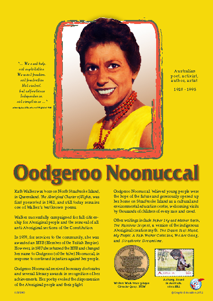 Quotes By Oodgeroo Noonuccal Like Success